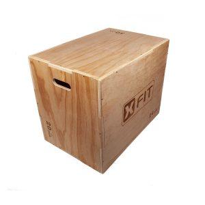 caixa madeira pliométrico