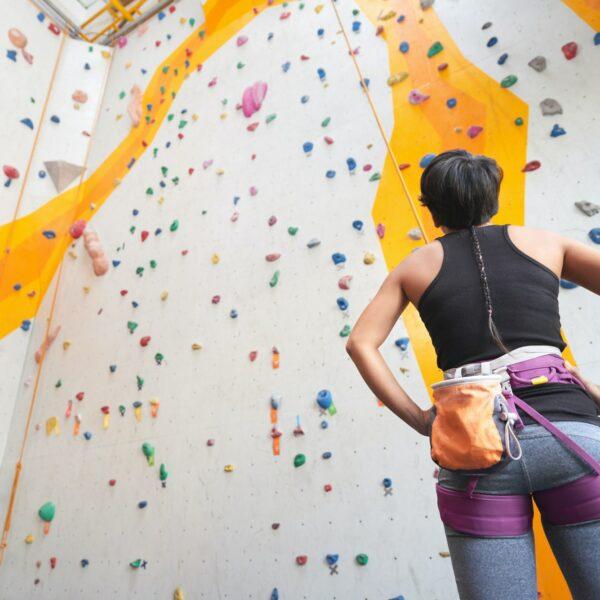 Ready to climb the wall